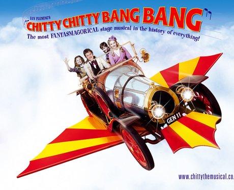 The 'Chitty Chitty Bang Bang' musical poster