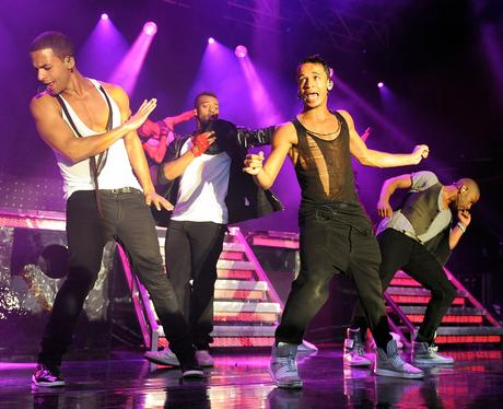 JLS on their '4th Dimension' UK tour.