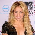 Shakira at the MTV EMAs