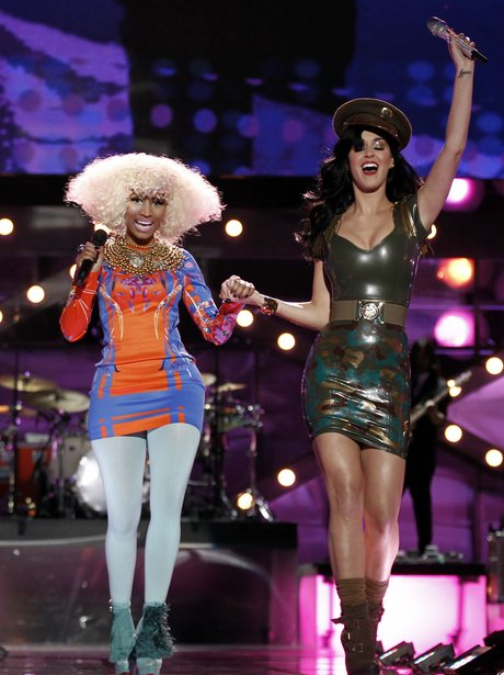 Nicki Minaj and katy perry