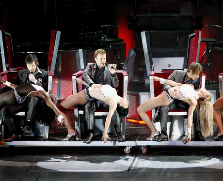 take that live on stage