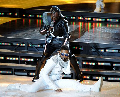 usher at The Super Bowl XLV