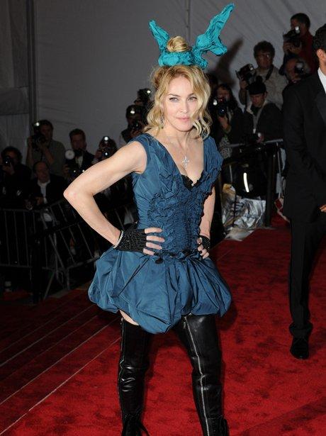Madonna on red carpet
