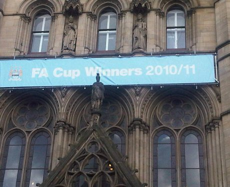 Manchester City FA Cup Victory Parade