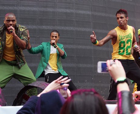 JLS On Stage