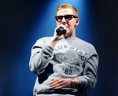 Professor Green at V Festival 2011