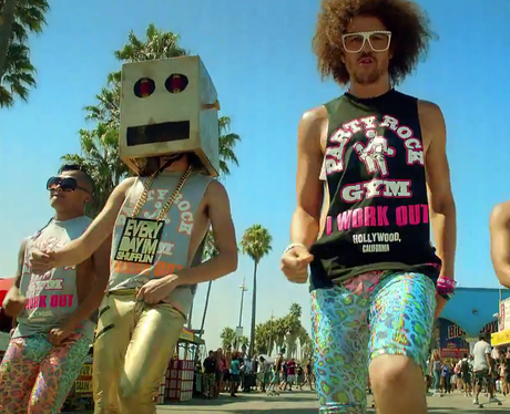 LMFAO in 'Sexy And I Know It' video