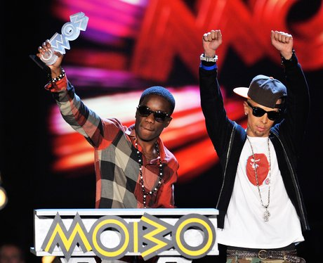 Dappy and Tinchey Stryder Mobo Awards 2011