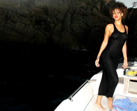 Rihanna's Holiday Snaps
