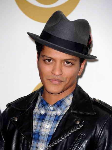Bruno Mars at the Grammy Nominations