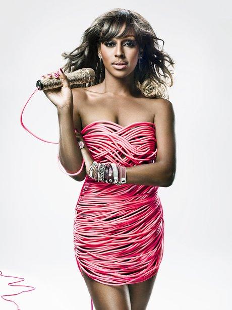 Alexandra Burke Tickled Pink