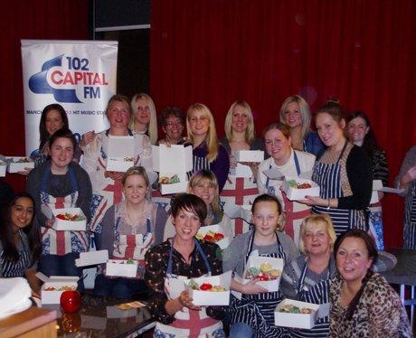 Capital Cup cake Hilton Manchester