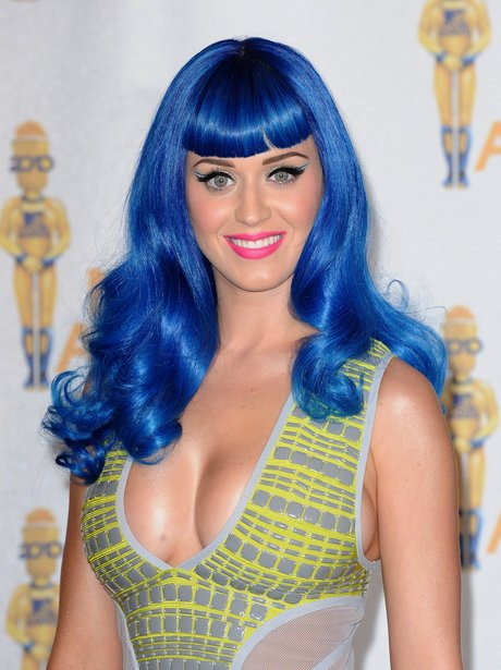 3 Katy Perry S Electric Blue Hair 20 Of Katy Perry S
