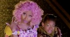 Willow Smith and Nicki Minaj's Fireball video