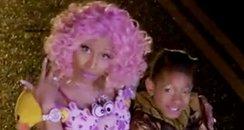 Willow Smith and Nicki Minaj's Fireball video