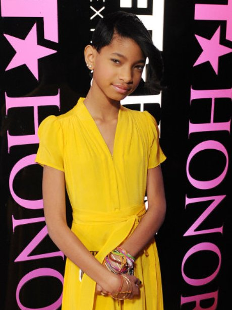 Willow Smith on the red carpet