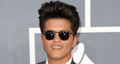 Bruno Mars at Grammy Awards 2012