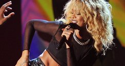 Rihanna live at the Grammy Awards