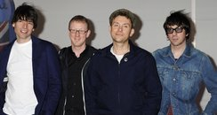 Blur attend the BRIT Awards 2012