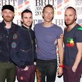 Coldplay arrive at the BRIT Awards 2012
