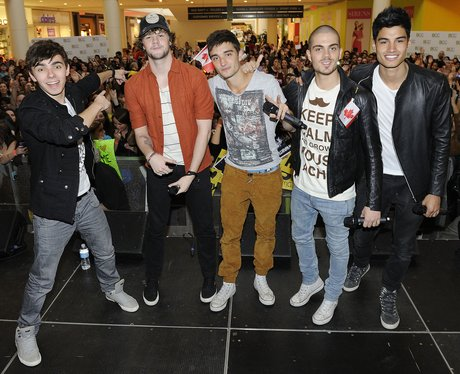 The Wanted In Canada