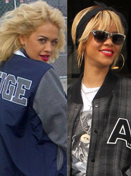 Baseball Jacket: Rita Ora Or Rihanna? - Is Rita Ora The New ...