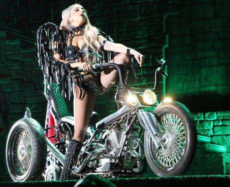 Lady Gaga on Tour in China