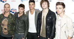 The Wanted arrive the Summertime Ball 2012