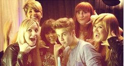 Carly Rae Jepsen, Justin Bieber and Kelly Clarkson