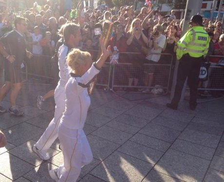 Olympic Torch Relay: Your Pics 1