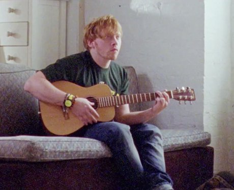 Ed Sheeran and Rupert Grint in Lego House video
