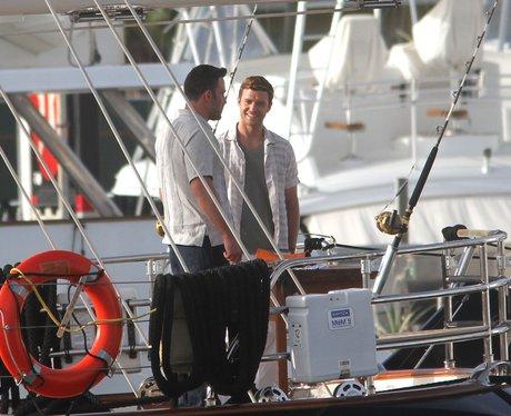 Ben Affleck and Justin Timberlake
