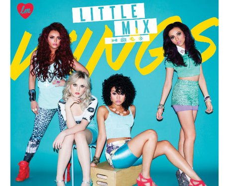 Little Mix 'Wings' single cover artwork