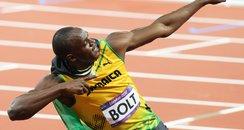 Usain Bolt wins 100m final