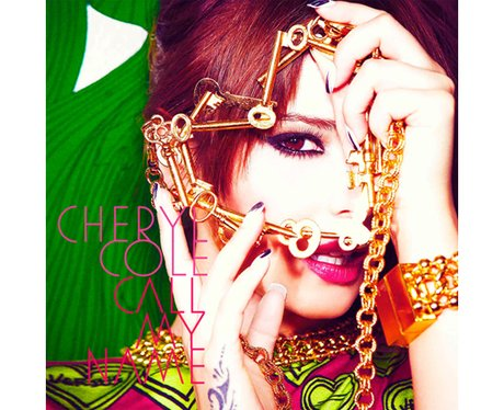 Cheryl Cole's 'Call My Name' single cover.
