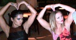 Cheryl Cole and Kimberley Walsh