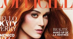 Katy Perry covers L'Officiel