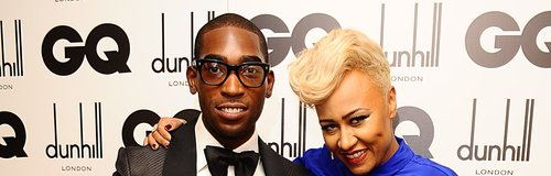 Tinie Tempah with Emeli Sande at the 2012 GQ Men O
