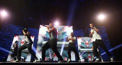 Jls performs at iTunes festival 2012