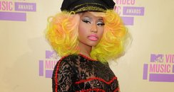 Nicki Minaj Arrives at the MTV VMA 2012 Awards