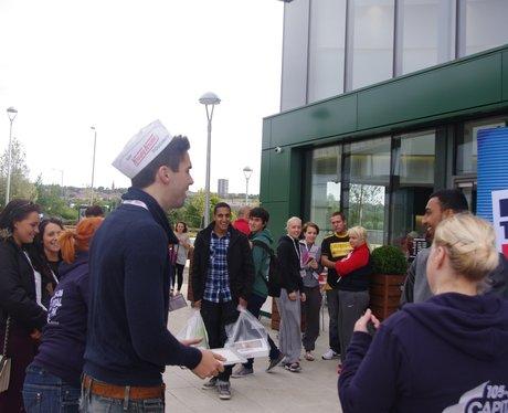 Krispy Kreme Opening Morning Thursday 6th