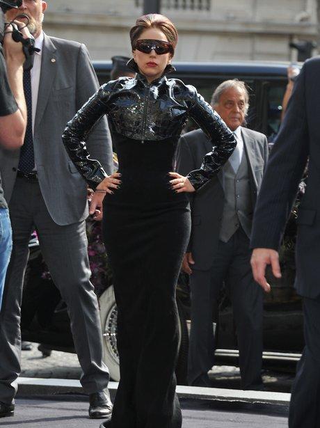 Lady Gaga perfume launch