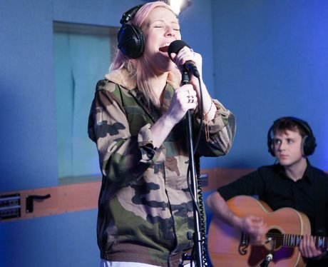 Ellie Goulding's live session for capitalfm