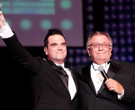 Photo of Robbie Williams & his  Father  Peter Williams