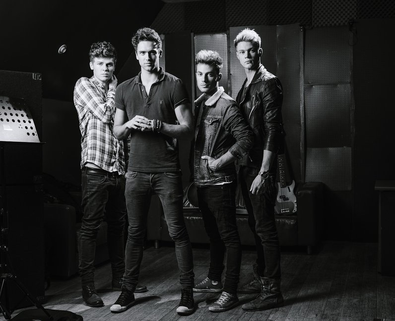 Lawson in the studio