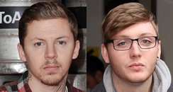 Professor Green and James Arthur