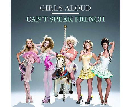 Girls Aloud 'Can't Speak French' album cover
