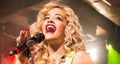 Rita Ora performs in London