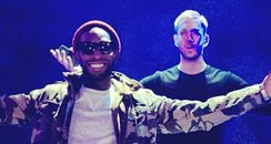 Tinie Tempah and Calvin Harris Twitter Picture