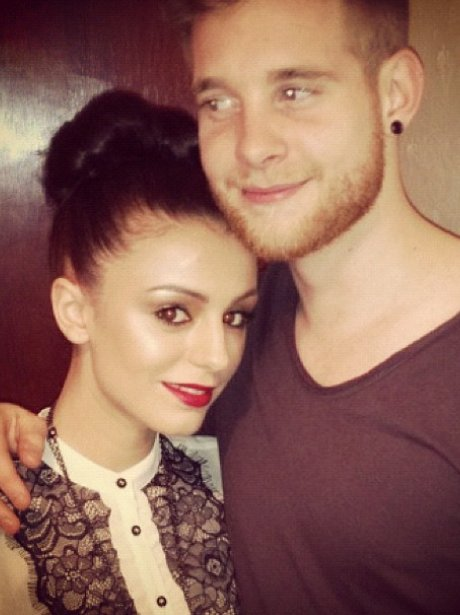 Cher Lloyd with her boyfriend